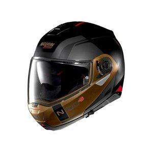 Moto prilba Nolan N100-5 Consistency N-Com P/J Farba Flat Black-Bronze, Veľkosť M (57-58)