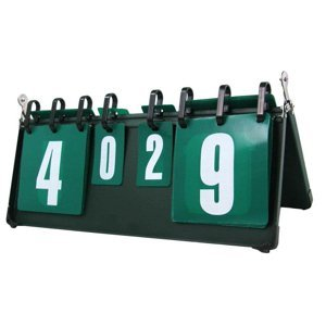 Ukazatel skóre SEDCO - Kovový 45x20 cm - tmavě zelená