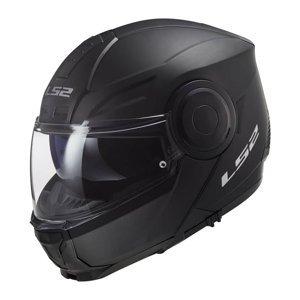 Výklopná moto prilba LS2 FF902 Scope Solid Farba Gloss Black, Veľkosť XXL (63-64)