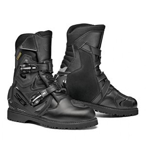 Touringové moto topánky SIDI Adventure Gore 2 Mid Farba Black, Veľkosť 41