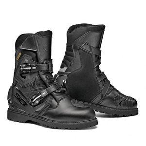 Touringové moto topánky SIDI Adventure Gore 2 Mid Farba Black, Veľkosť 42
