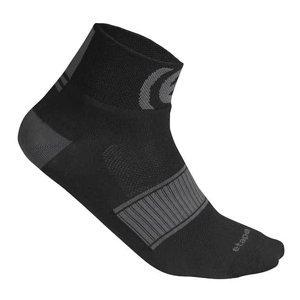 SOX sportovní ponožky černá-bílá Velikost (obuv): S