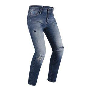 Pánske moto jeansy PMJ Street Farba modrá, Veľkosť 28