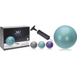 Gymnastický míč XQ MAX ANTIBURST 75 cm - Fialová