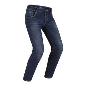Pánske moto jeansy PMJ Rider New Farba modrá, Veľkosť 38