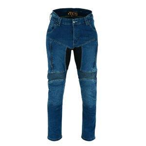 Moto jeansy BOS Prado Farba Acid Blue, Veľkosť 36