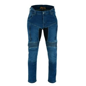 Moto jeansy BOS Prado Farba Black, Veľkosť 36
