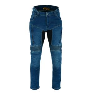 Moto jeansy BOS Prado Farba Black, Veľkosť 42