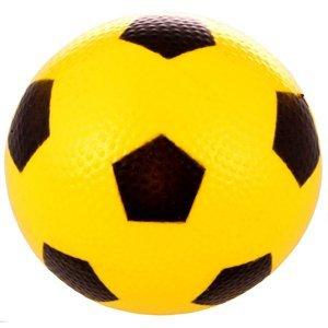 Míček Fotbal gumový míč barva: žlutá