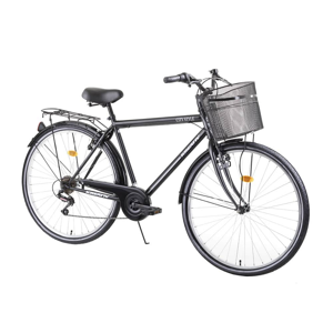 "Mestský bicykel Kreativ City Series 2813 28"" 4.0 Farba Black"