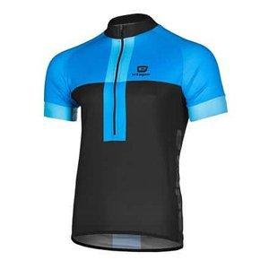 Face cyklistický dres černá-modrá Velikost oblečení: XXL