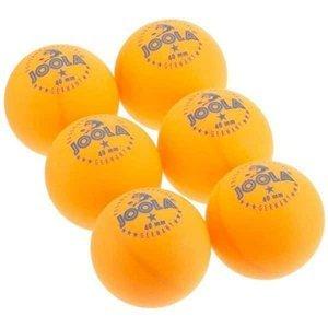 Míčky na stolní tenis JOOLA ROSSI* - SET 6 ks - Oranžová
