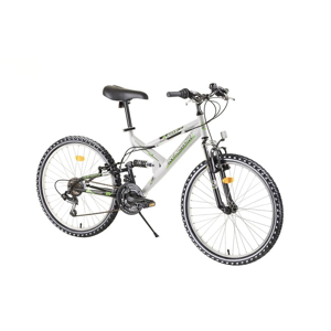 "Juniorský celoodpružený bicykel Reactor Fox 24""  - model 2020 Farba blue"