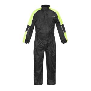 Moto pláštenka NOX/4SQUARE Safety Farba čierna-fluo žltá, Veľkosť L