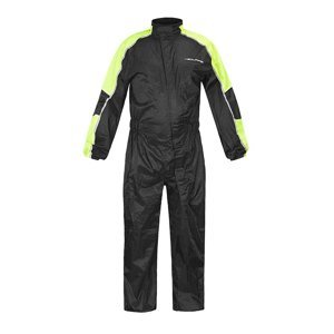 Moto pláštenka NOX/4SQUARE Safety Farba čierna-fluo žltá, Veľkosť 3XL