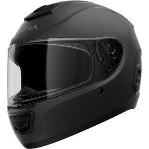 Moto prilba SENA Momentum EVO s integrovaným headsetom Farba matne čierna, Veľkosť XL (61-62)