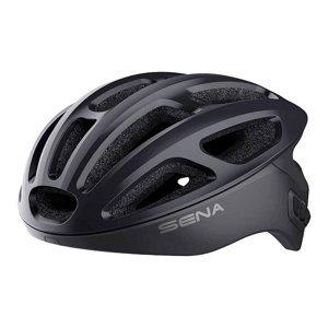 Cyklo prilba SENA R1 s integrovaným headsetom Farba matná šedá, Veľkosť M (55-59)