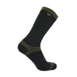 Nepremokavé ponožky DexShell Trekking Farba Olive, Veľkosť XL