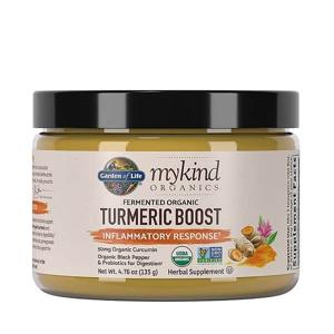Garden of Life Mykind Organics Turmeric Boost Powder - kurkuma prášek 135g.