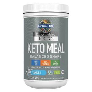 Garden of Life Dr. Formulated Keto Meal Balanced Shake - Vanilka 672g