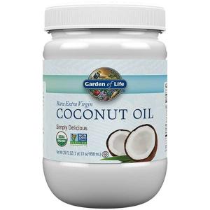 Garden of Life Raw Extra Virgin Coconut Oil - 858ml