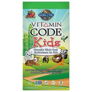 Garden of Life Vitamín Code Kids multivitamín pro děti 30 tablet