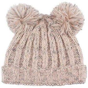 Anna dětská zimní čepice růžová