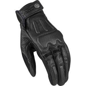 Kožené moto rukavice LS2 Rust Farba Black, Veľkosť S