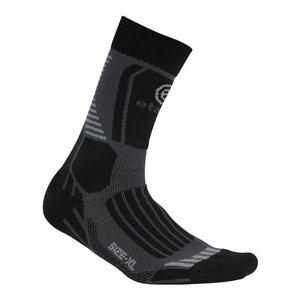 Cross sportovní ponožky barva: šedá;velikost (obuv / ponožky): XL
