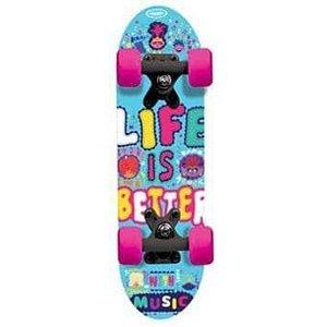 Dětský Skateboard - Mini board Trolls 17 palců
