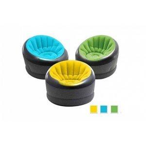Nafukovací křeslo Intex 66582 EMPIRE chair  - Modrá