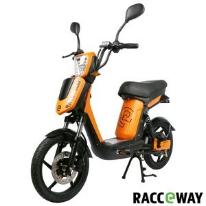 Elektroskútr RACCEWAY E-BABETA, oranžová-lesklá