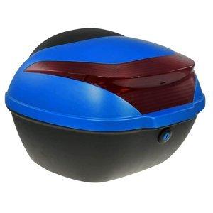Zadní kufr k elektroskútru RACCEWAY E-BABETA, modrý lesk