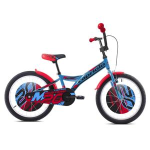 """Dětské kolo Capriolo Mustang 20"""" - model 2021 Barva modro-černo-červená"""