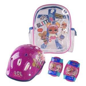 Set chráničov a helmy LOL Surprise s taškou