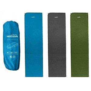 Samonafukovací karimatka Redcliffs 180x50x2,5 cm - Zelená