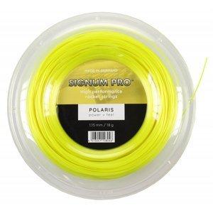 Polaris tenisový výplet 200 m žlutá Průměr: 1,25