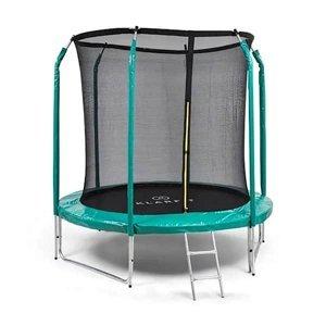 Trampolína KLARFIT Jumpstarter 250 cm zelená