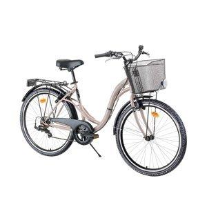 "Mestský bicykel Reactor Swan 26"" - model 2021 Farba Gold Rose"
