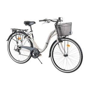 "Mestský bicykel Reactor Swan 28"" - model 2021 Farba Cream"