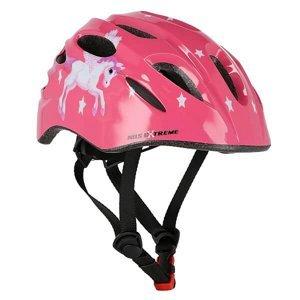 Helma s blikačkou NILS Extreme MTW01 růžová S(48-52)