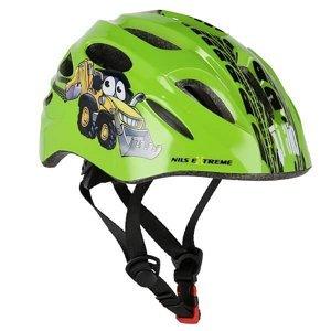 Helma s blikačkou NILS Extreme MTW01 zelená S(44-48)