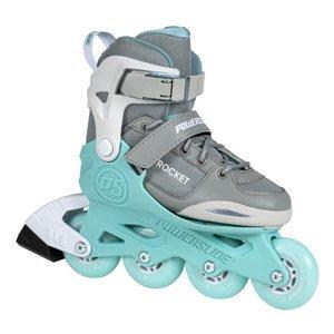 Detské nastaviteľné korčule PowerslideRocket Grey Veľkosť 29-32