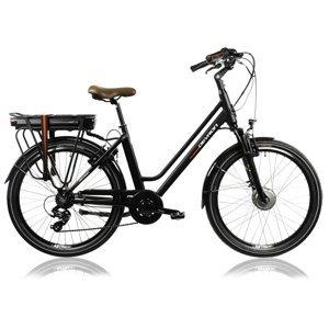 """Mestský elektrobicykel Devron 26120 26"""" - model 2022 Farba Black, Veľkosť rámu 18"""""""