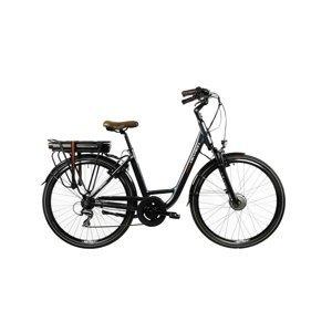 """Mestský elektrobicykel Devron 28120 28"""" - model 2022 Farba Silver, Veľkosť rámu 19"""""""
