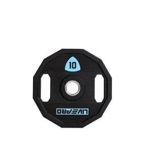 Kotouč činky LivePro Urethane LP8023 50 mm - 10 kg