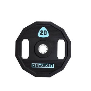 Kotouč činky LivePro Urethane LP8023 50 mm - 20 kg