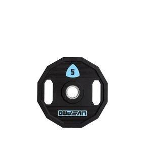 Kotouč činky LivePro Urethane LP8023 50 mm - 5 kg