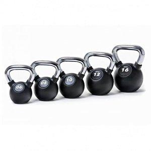 Kettlebell SEDCO RUBBER-CHROM PROFI - 24 kg