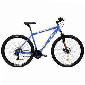 """Horský bicykel DHS 2905 29"""" - model 2021 Farba Grey, Veľkosť rámu 18"""""""